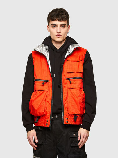 Diesel - J-GIOTIS, Orange - Jackets - Image 6
