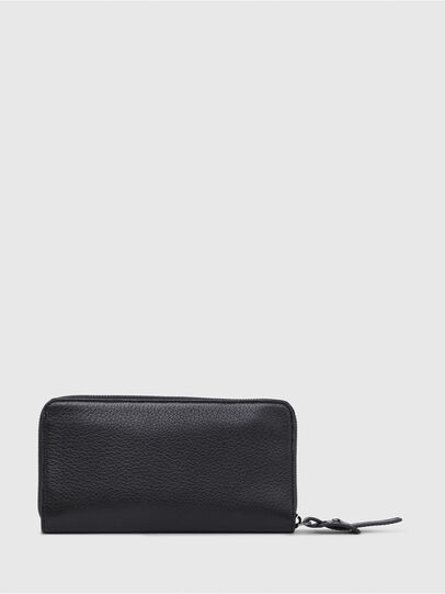 Diesel - 24 ZIP, Black - Small Wallets - Image 2