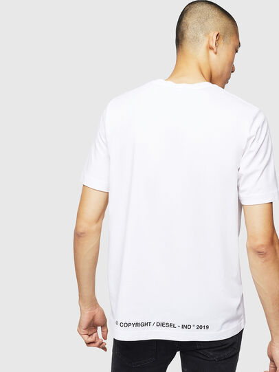 Diesel - T-JUST-B31, White - T-Shirts - Image 2
