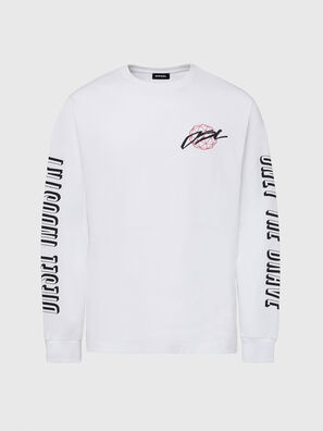 T-JUST-LS-X92, White - T-Shirts