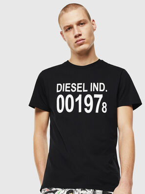 T-DIEGO-001978, Black/White - T-Shirts