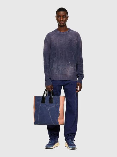 Diesel - K-NORTHERN, Blue - Knitwear - Image 5