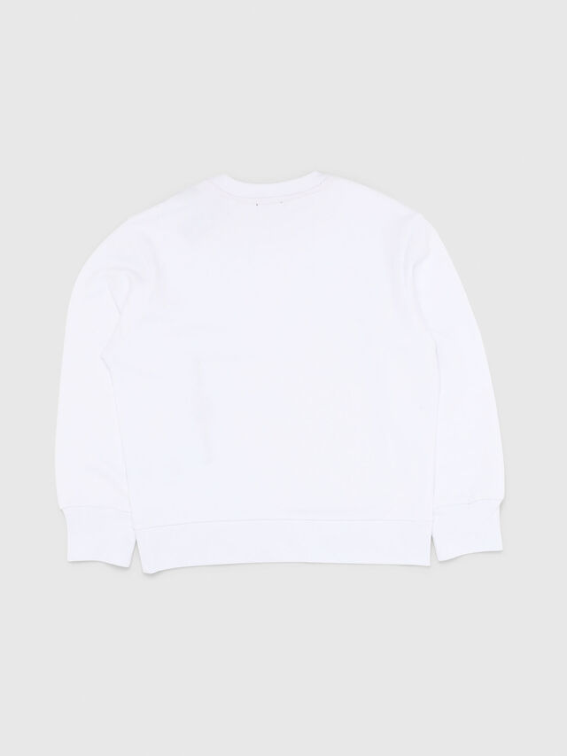 Diesel - SELLISX OVER, White - Sweaters - Image 2