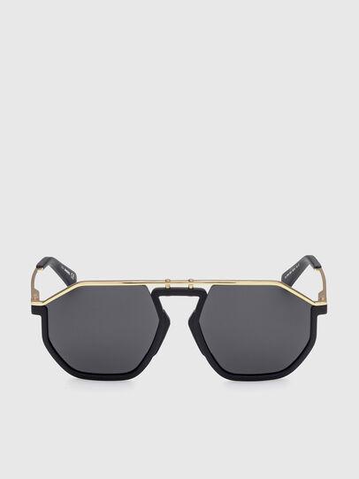 Diesel - DL0346, Black/Gold - Sunglasses - Image 1