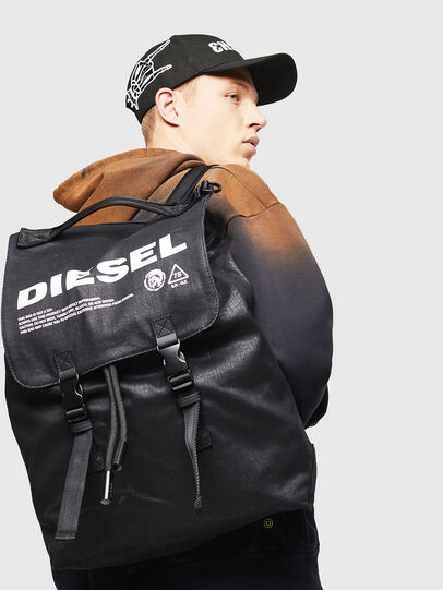 Diesel - VOLPAGO BACK, Black - Backpacks - Image 6