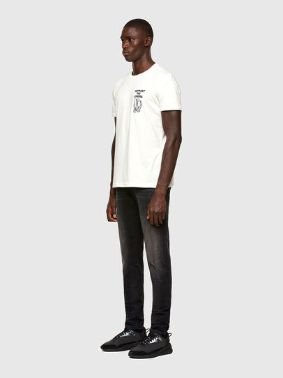 Diesel - T-DORYMO-A1, White - T-Shirts - Image 5
