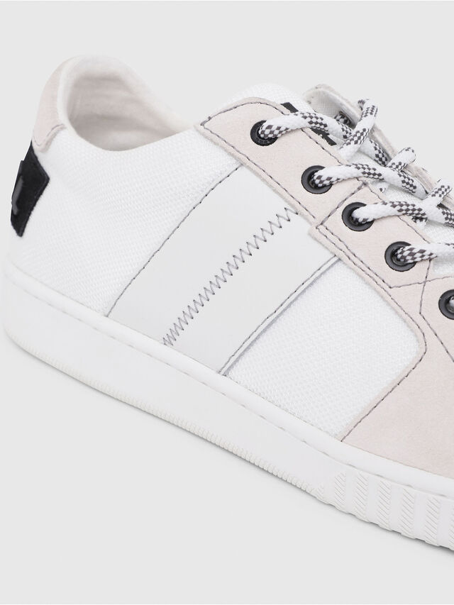 Diesel - S-MILLENIUM LC, White/Pink - Sneakers - Image 5