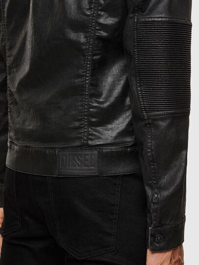 Diesel - D-RACER-SP JOGGJEANS, Black - Denim Jackets - Image 4