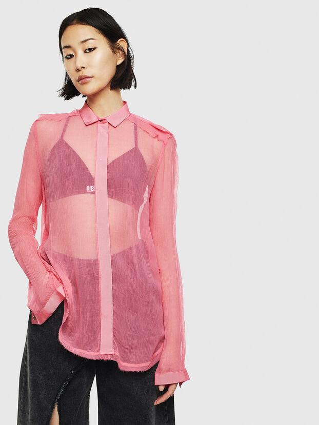 C-RAILY-ROUCHE, Pink - Shirts