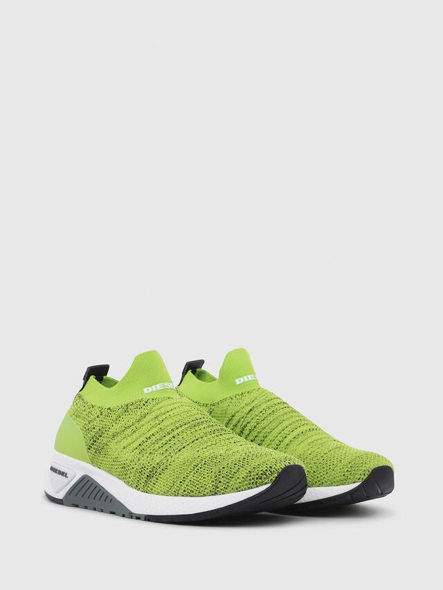 Diesel - S-KB ATHL SOCK, Green Fluo - Sneakers - Image 2