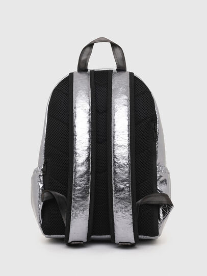 Diesel - F-BOLD BACK III, Silver - Backpacks - Image 2