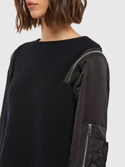 Diesel - M-CLARE, Black - Knitwear - Image 5
