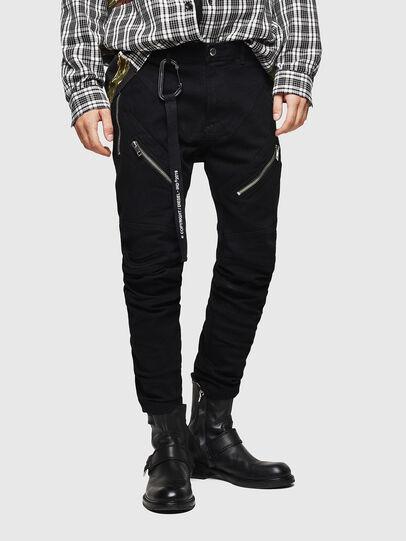 Diesel - P-VON, Black - Pants - Image 1