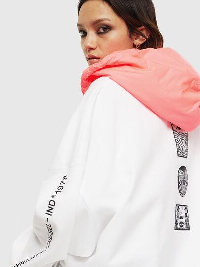 Diesel - F-JUSTIN, White - Sweaters - Image 4