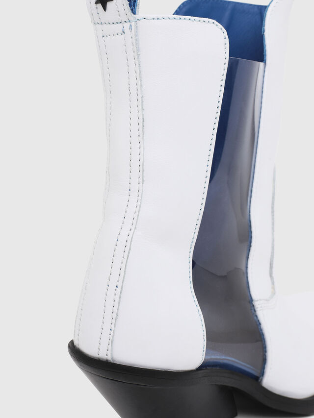 Diesel - D-GIUDECCA MAT, White - Ankle Boots - Image 5