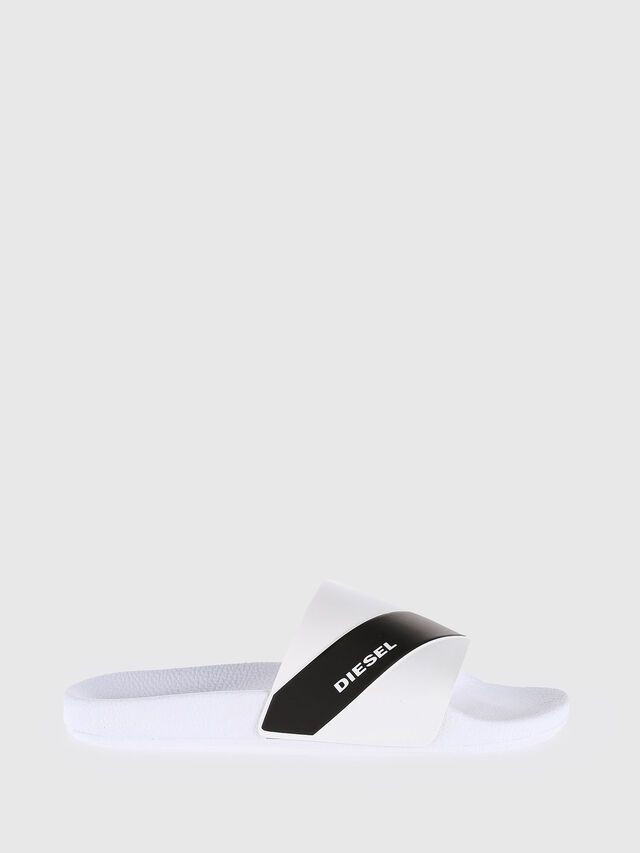 Diesel - SA-MARAL, White - Slippers - Image 1