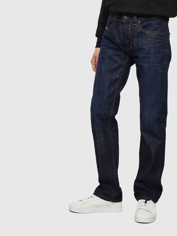 Larkee 0806W, Dark Blue - Jeans