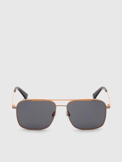 Diesel - DL0295, Orange/Black - Sunglasses - Image 1