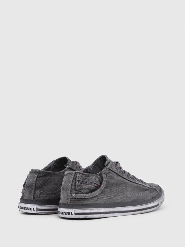 Diesel - EXPOSURE LOW I, Metal Grey - Sneakers - Image 3
