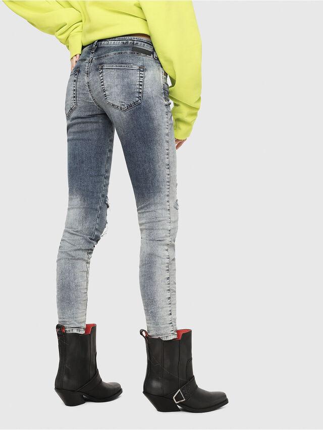 Diesel - Gracey JoggJeans 069FC, Light Blue - Jeans - Image 2