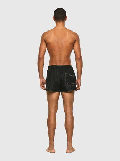 Diesel - BMBX-SANDY-REV, Black/Yellow - Swim shorts - Image 2