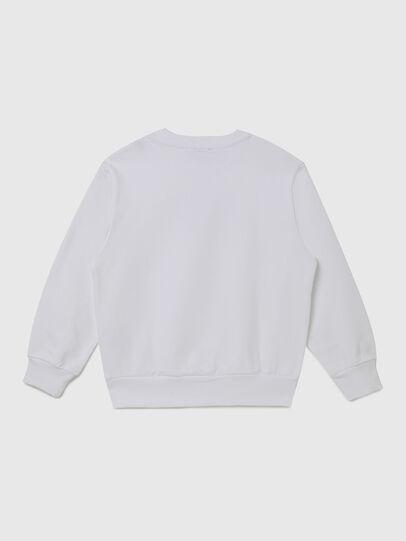 Diesel - SGIRKX5 OVER, White - Sweaters - Image 2