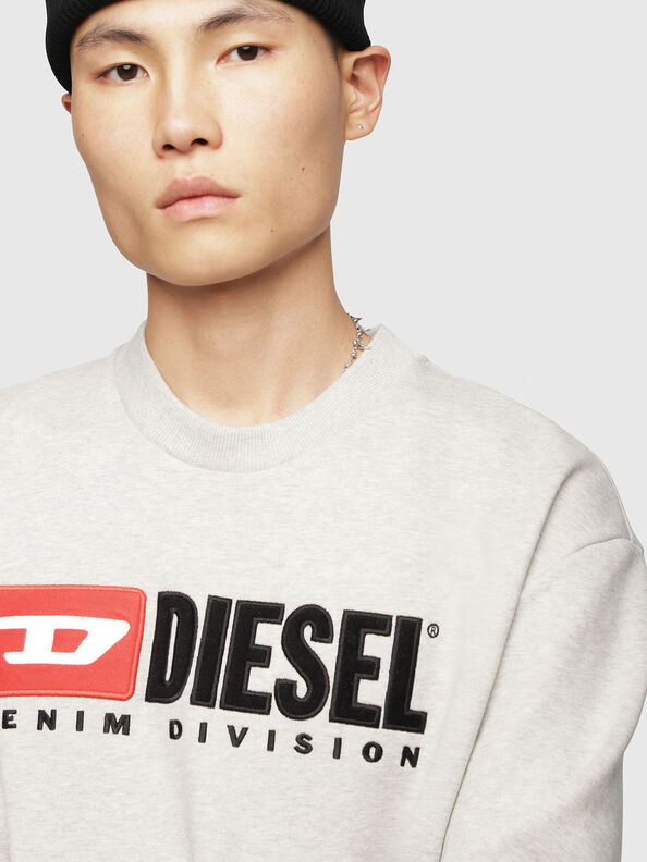 S-CREW-DIVISION, Light Grey - Sweaters