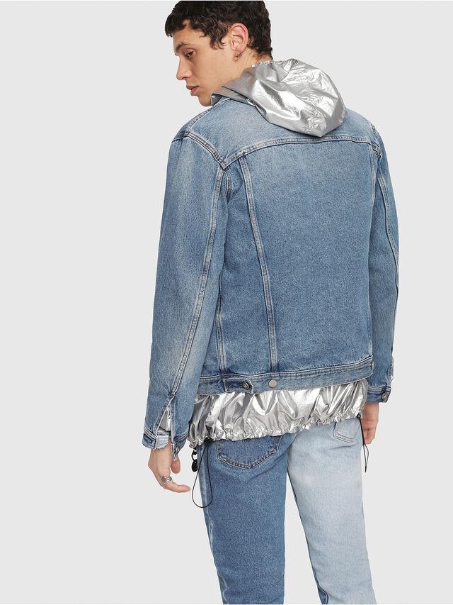Diesel - NHILL, Blue Jeans - Denim Jackets - Image 2