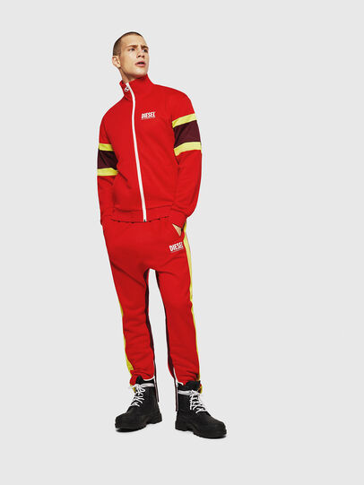 Diesel - S-AKON, Fire Red - Sweaters - Image 5