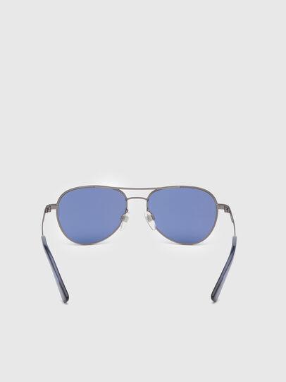 Diesel - DL0291, Blue/Grey - Kid Eyewear - Image 4
