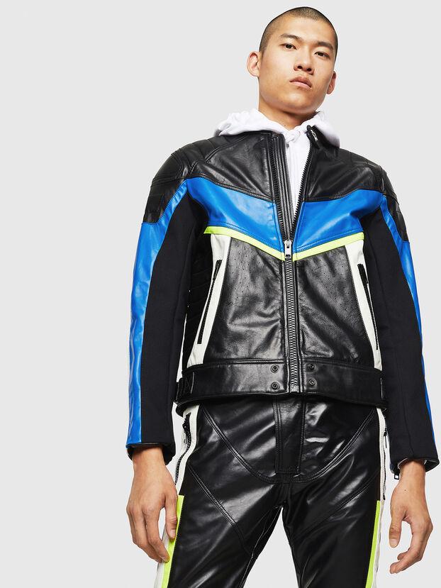 ASTARS-LDUE,  - Leather jackets