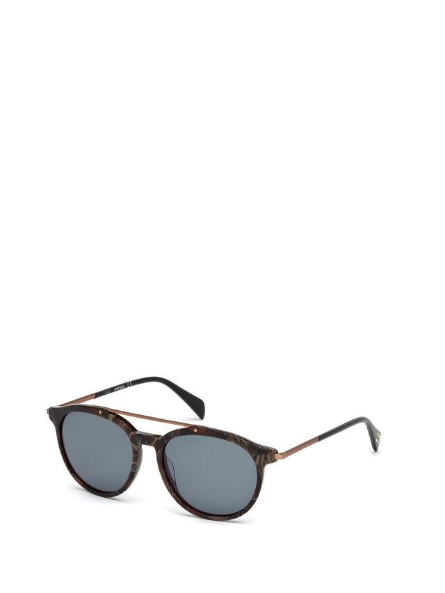 Diesel DM0188, Brown - Eyewear - Image 4