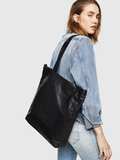 Diesel - L-TOLLE SHOPPER E/W,  - Shopping and Shoulder Bags - Image 5