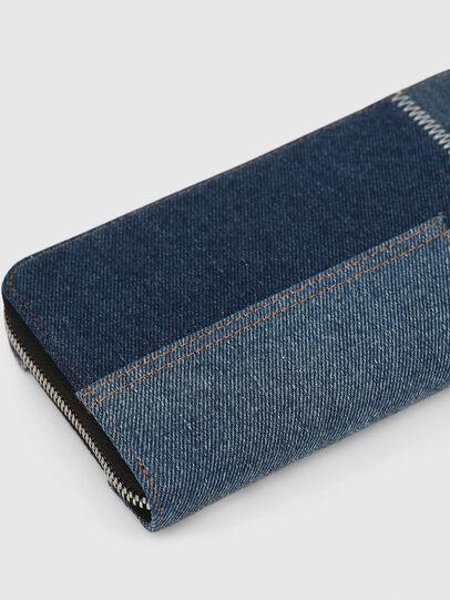 Diesel - GRANATO LC, Blue Jeans - Zip-Round Wallets - Image 5