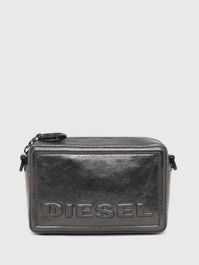 Diesel - ROSA' CNY, Silver - Crossbody Bags - Image 1
