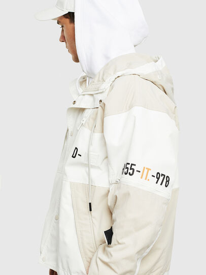 Diesel - J-REED, White - Jackets - Image 5
