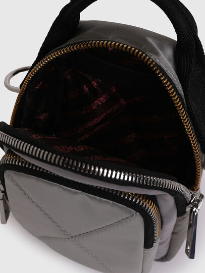 Diesel - LEDYBAG, Grey - Crossbody Bags - Image 4