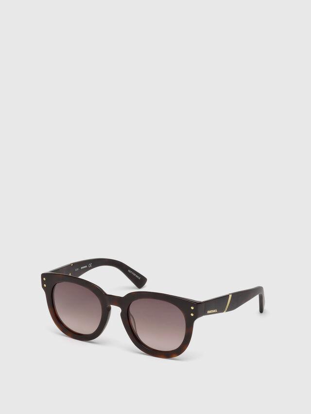 Diesel DL0230, Brown/Black - Eyewear - Image 4