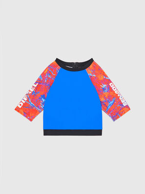 BFB-CROPPYDOO, Blue/Orange - Out of water