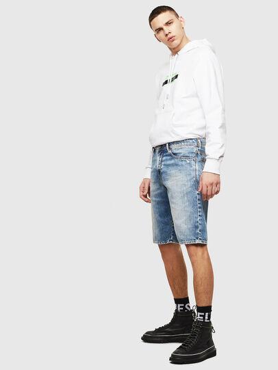 Diesel - THOSHORT, Light Blue - Shorts - Image 5