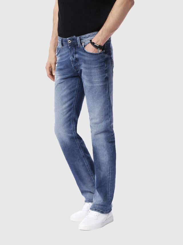Diesel - Larkee 0853P, Light Blue - Jeans - Image 4