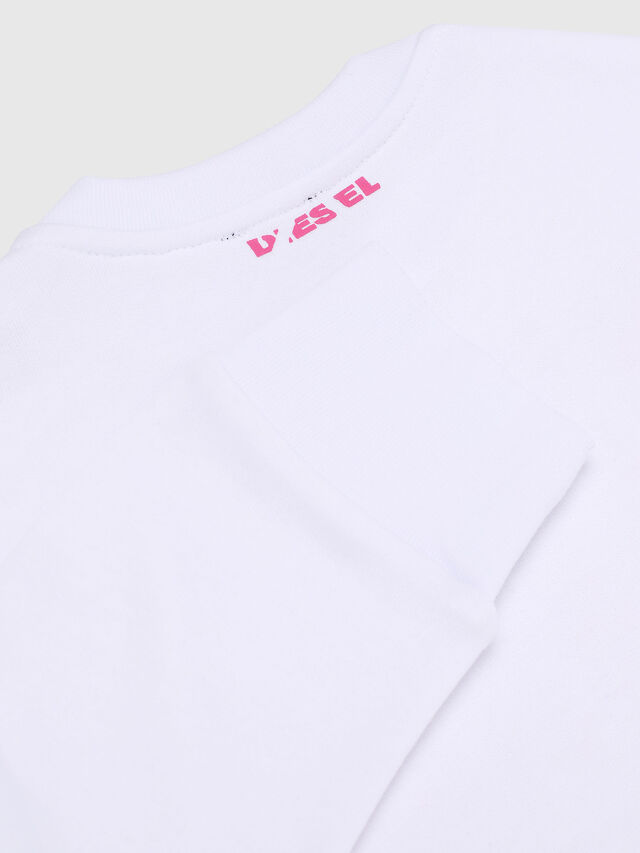 Diesel - SBAYX OVER, White/Pink - Sweaters - Image 3