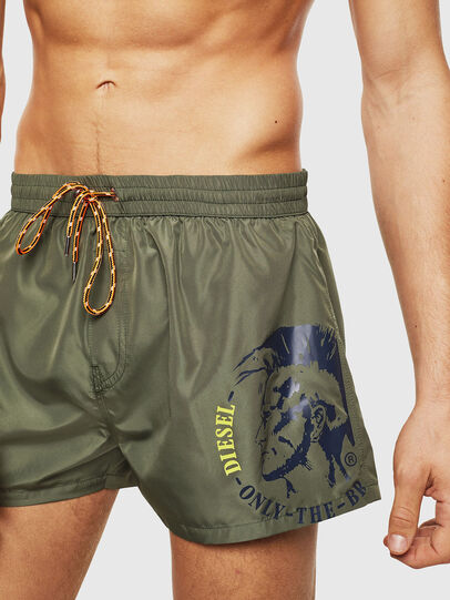 Diesel - BMBX-SANDY 2.017, Military Green - Swim shorts - Image 3