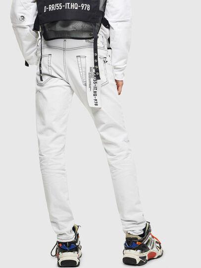 Diesel - D-Strukt 003Z1, White - Jeans - Image 2