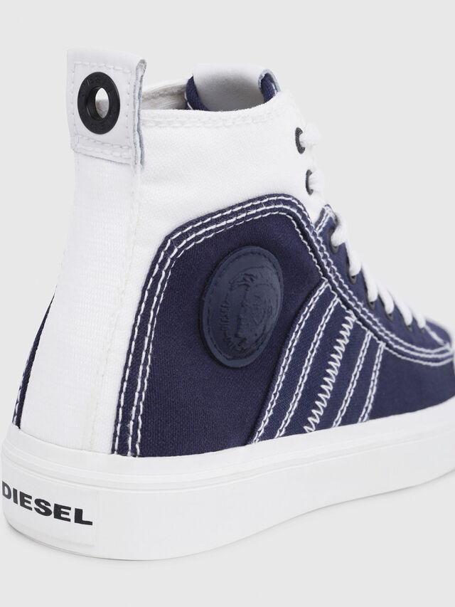 Diesel - S-ASTICO MID LACE W, Blue/White - Sneakers - Image 4