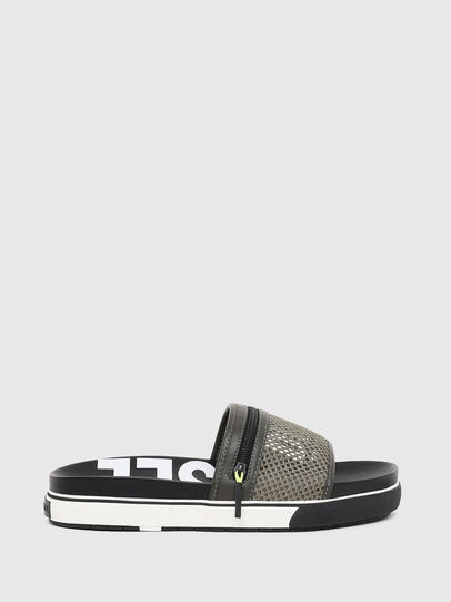 Diesel - SA-GRANDZ, Green/Black - Slippers - Image 1