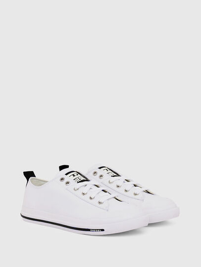 Diesel - S-ASTICO LOW CUT W, White - Sneakers - Image 2