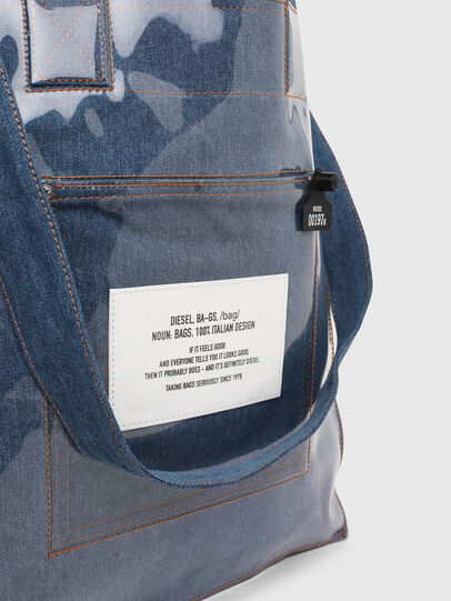 Diesel - F-THISBAG SHOWEI, Blue Jeans - Shopping and Shoulder Bags - Image 5