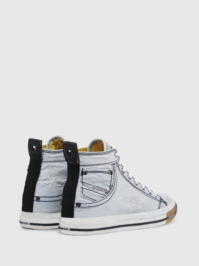 Diesel - EXPOSURE IV W, Light Blue - Sneakers - Image 3