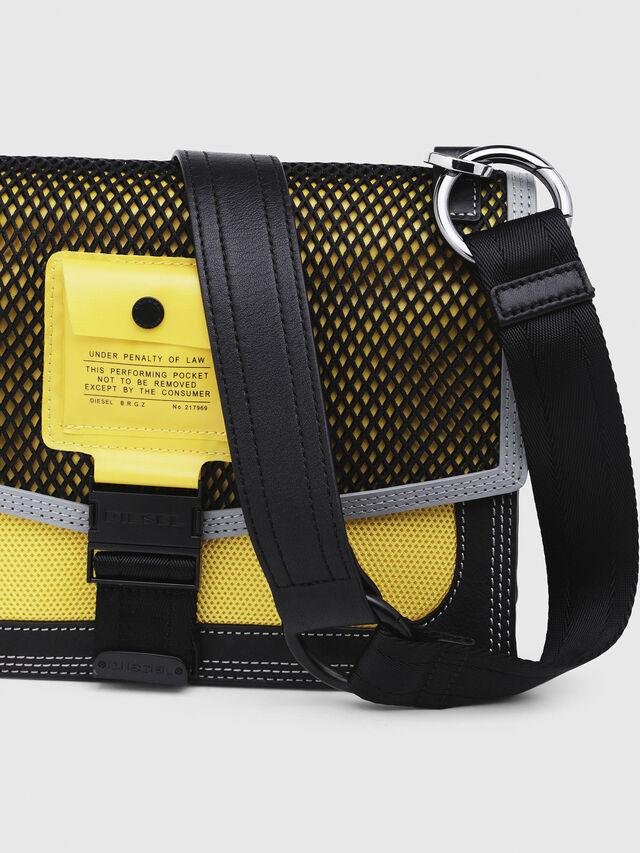 Diesel - MISS-MATCH CROSSBODY, Blue/Yellow - Crossbody Bags - Image 3